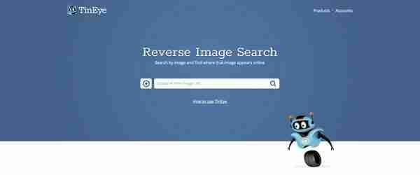 TinEye Reverse Image Search Engine