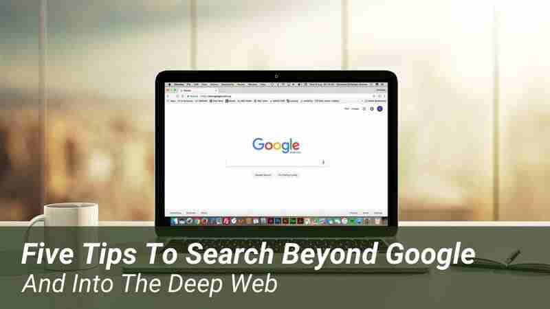 The Deep Web